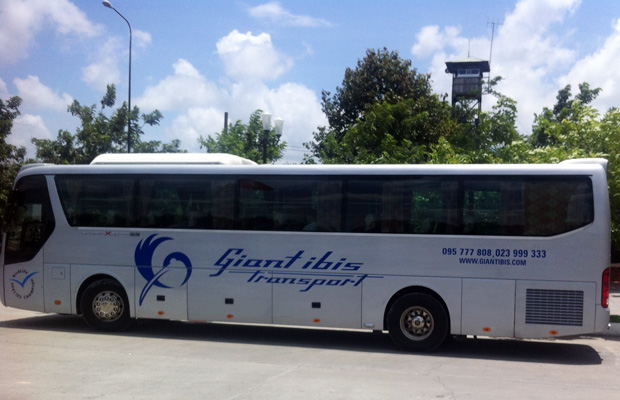 How to Bus from Siem Reap, Cambodia to Ho Chi Minh City, Vietnam